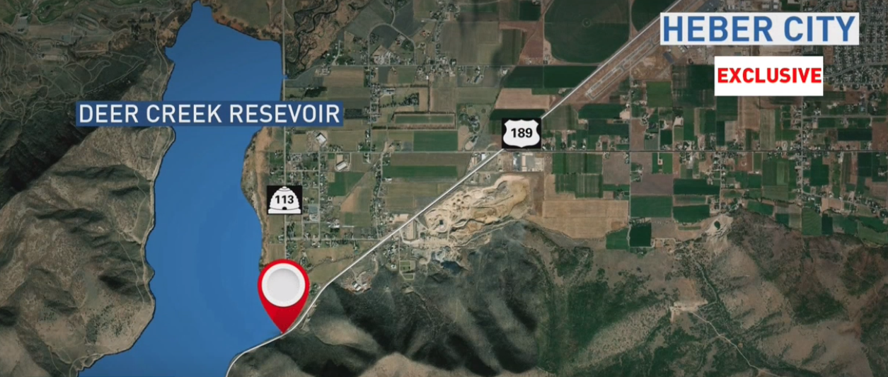Police investigate bizarre incident in Provo Canyon (Photo: KUTV)