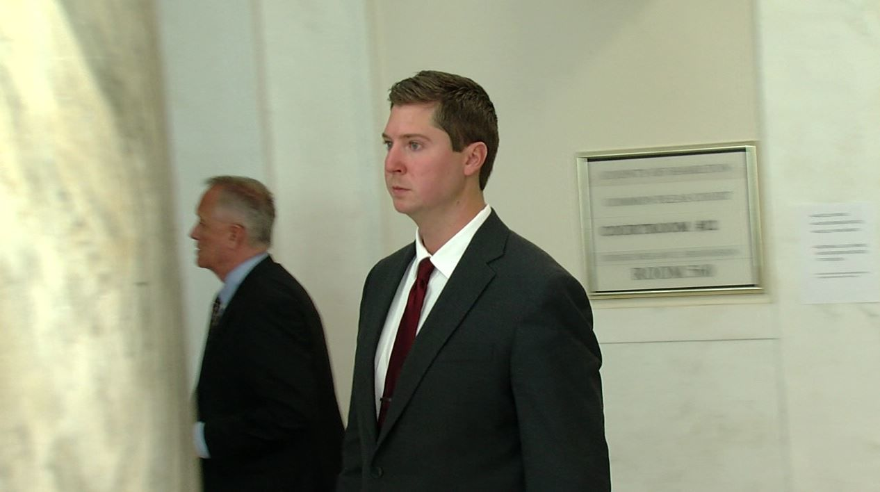 Former University of Cincinnati police officer Ray Tensing was tried in November for the murder of Sam DuBose after he shot the man during a traffic stop in July 2015. His first trial was declared a mistrial, and he will be re-tried in Hamilton County in May 2017. (WKRC)