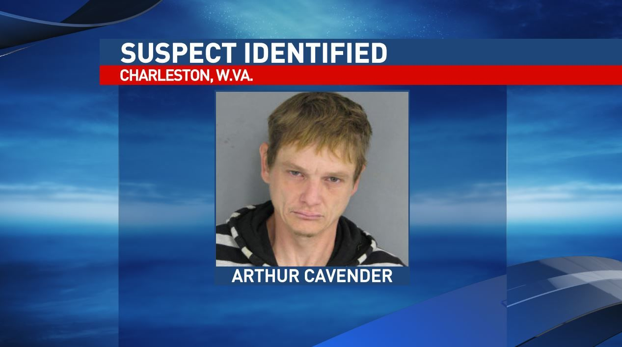 Charleston police say{&nbsp;}Arthur Allen Cavender, 37, is charged with misdemeanor destruction of property in connection an incident at West Virginia Eye Consultants on Summers Street. (Charleston Police Department)<p></p>