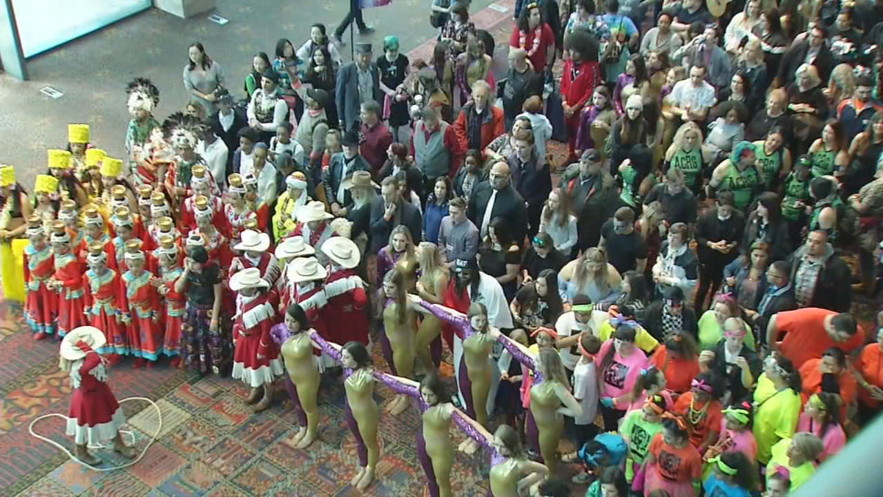 <p>Thousands turned out for the America's Got Talent auditions.(SBG Photo)</p>