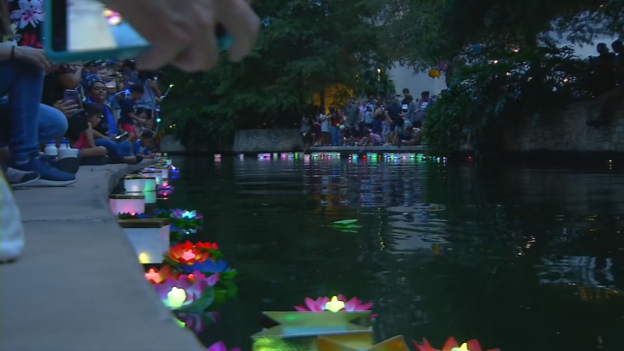 Wishing Lanterns lighting up the River Walk Saturday, August 24 (SBG San Antonio)