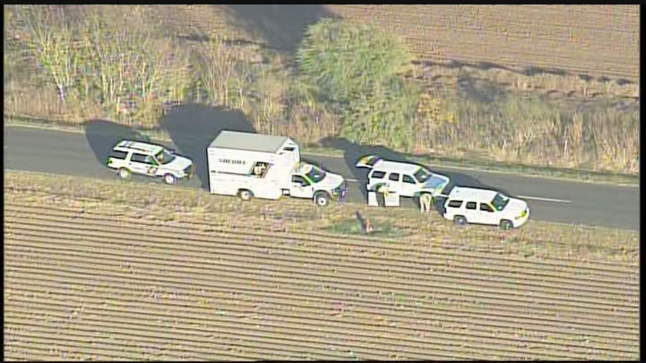 Deputies said the body was found and is believed to be human remains, an investigation is ongoing. (SBG Photo))