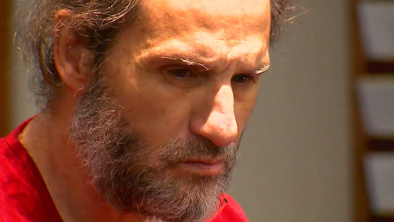 Francisco Calderon appears in court in January after being charged with assaulting a child. (KOMO Photo)<p></p>
