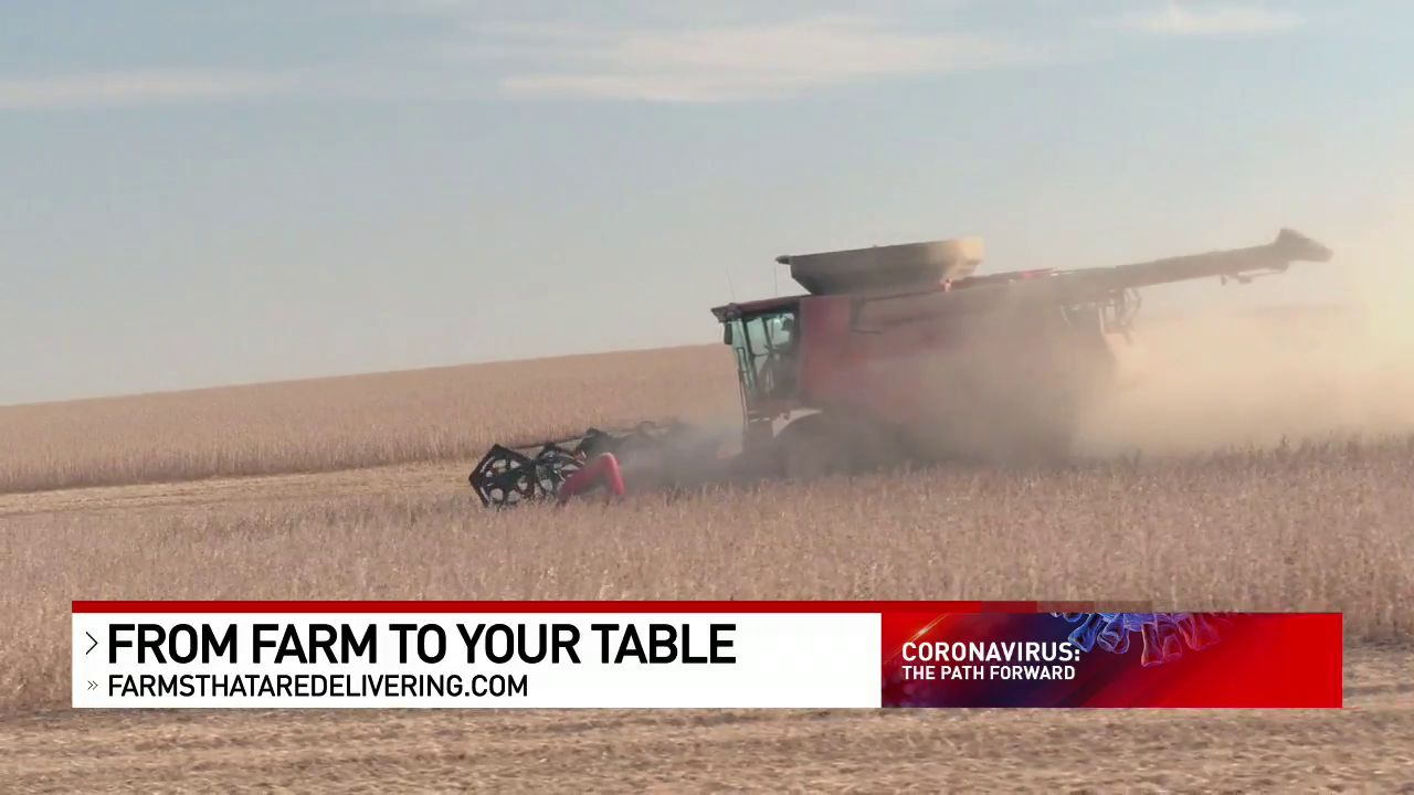 A new website aimed at connecting farmers with an abundance of crops to people facing food scarcity on the shelves is gaining steam. (WSYX/WTTE)