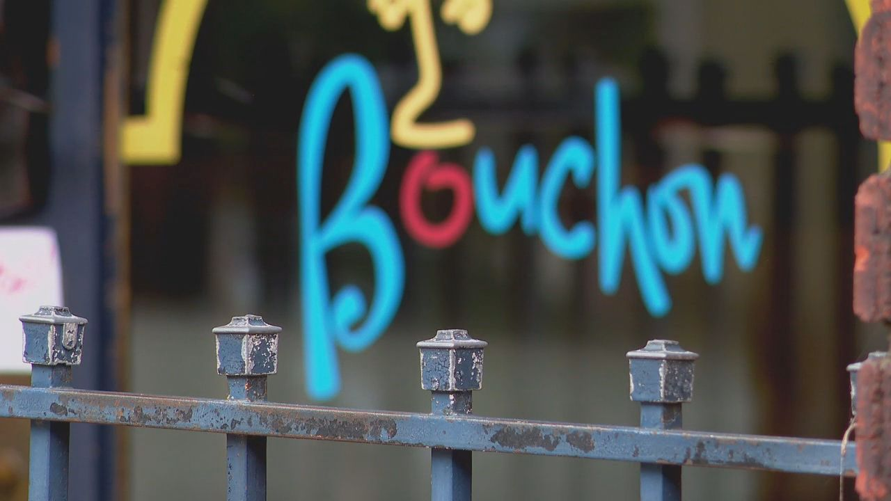 Bouchon, a french comfort food style restaurant located in downtown Asheville, North Carolina (Photo credit: WLOS Staff)