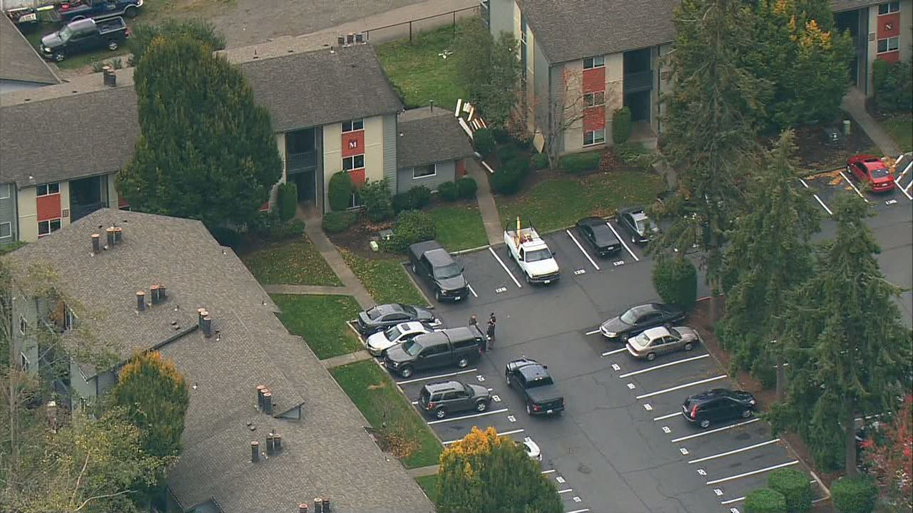 Deputies arrest suspect in Snohomish Co. homicide (KOMO News Air 4 Photo)<p></p>