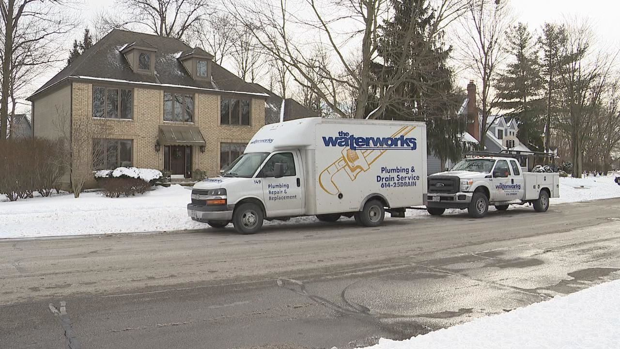 Waterworks Plumbing says that the warmer temperatures Wednesday may reveal pipes that have frozen the last few days. (WSYX/WTTE)