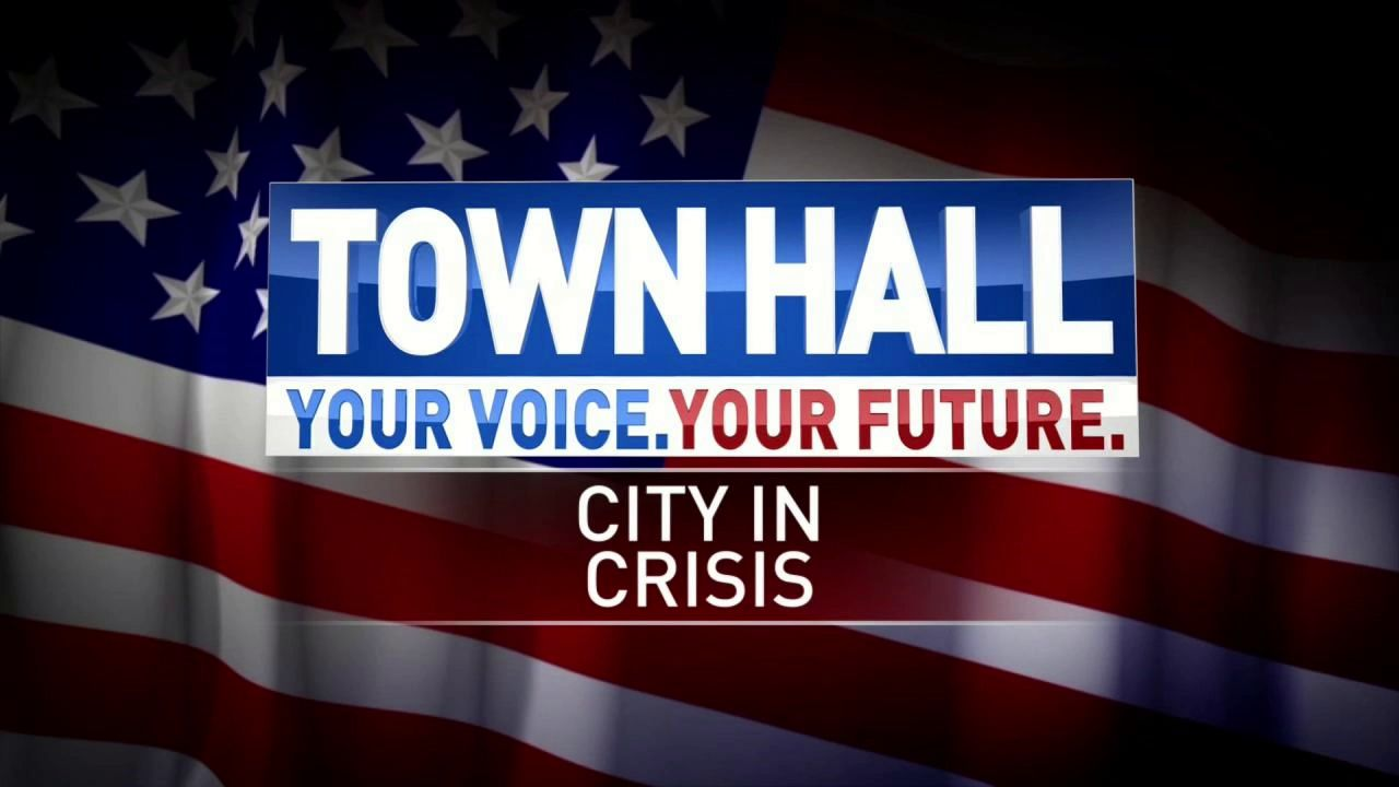 Your Voice, Your Future: City In Crisis Town Hall