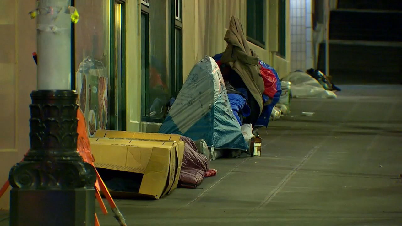 Seattle homeless (KOMO Image)
