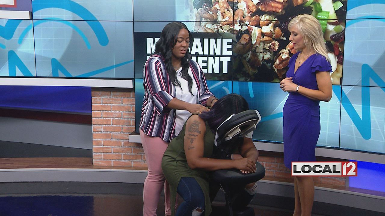 June is National Headache Awareness Month, and a local woman who suffered for years says she has finally found relief thanks to massage therapy. (WKRC)