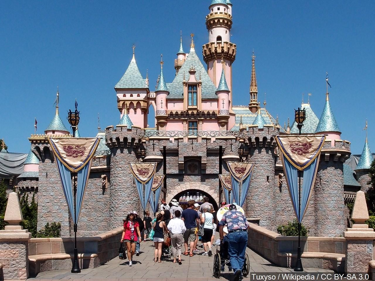 A family brawl broke out at Disneyland and it was caught on camera. (Photo: Tuxyso / Wikipedia / CC BY-SA 3.0 via MGN)