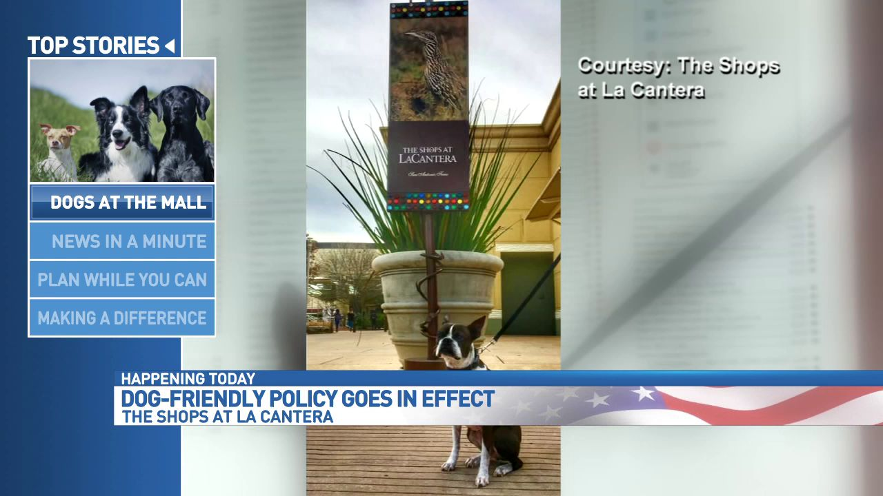 The Shops At La Cantera Is Now Pet Friendly Woai