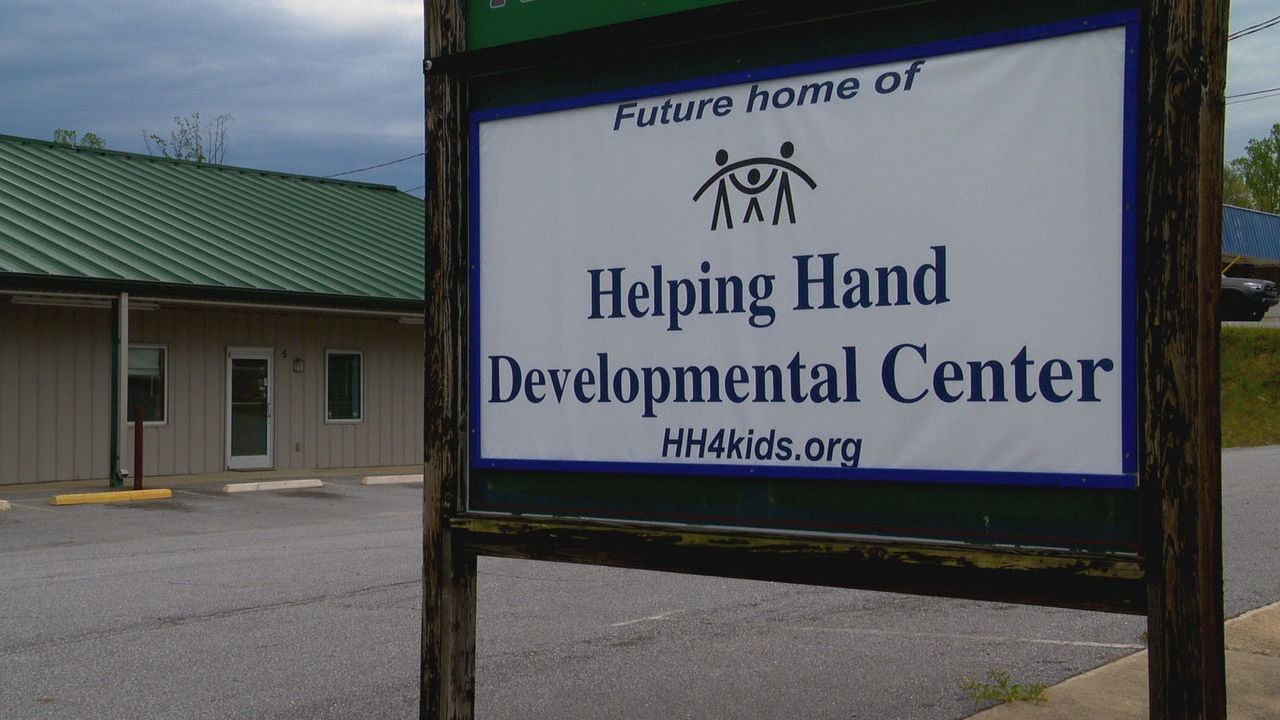 Helping Hand Developmental Center has a new potential space on Spartanburg Highway but needs money to renovate it. (Photo credit: WLOS staff)