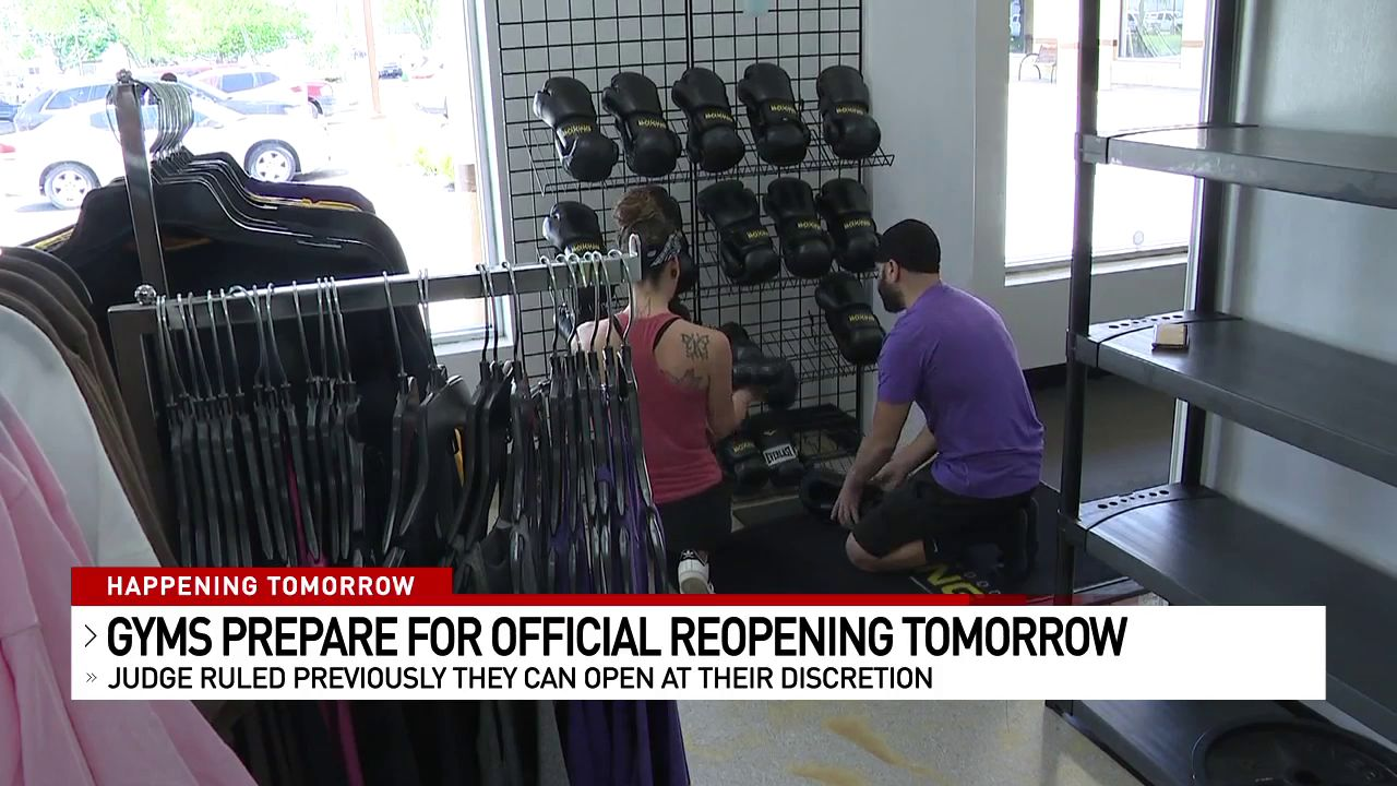 Although some gyms have reopened following a lawsuit filed against the Ohio Department of Health, most gyms and fitness centers will reopen on May 26th. (WSYX/WTTE)