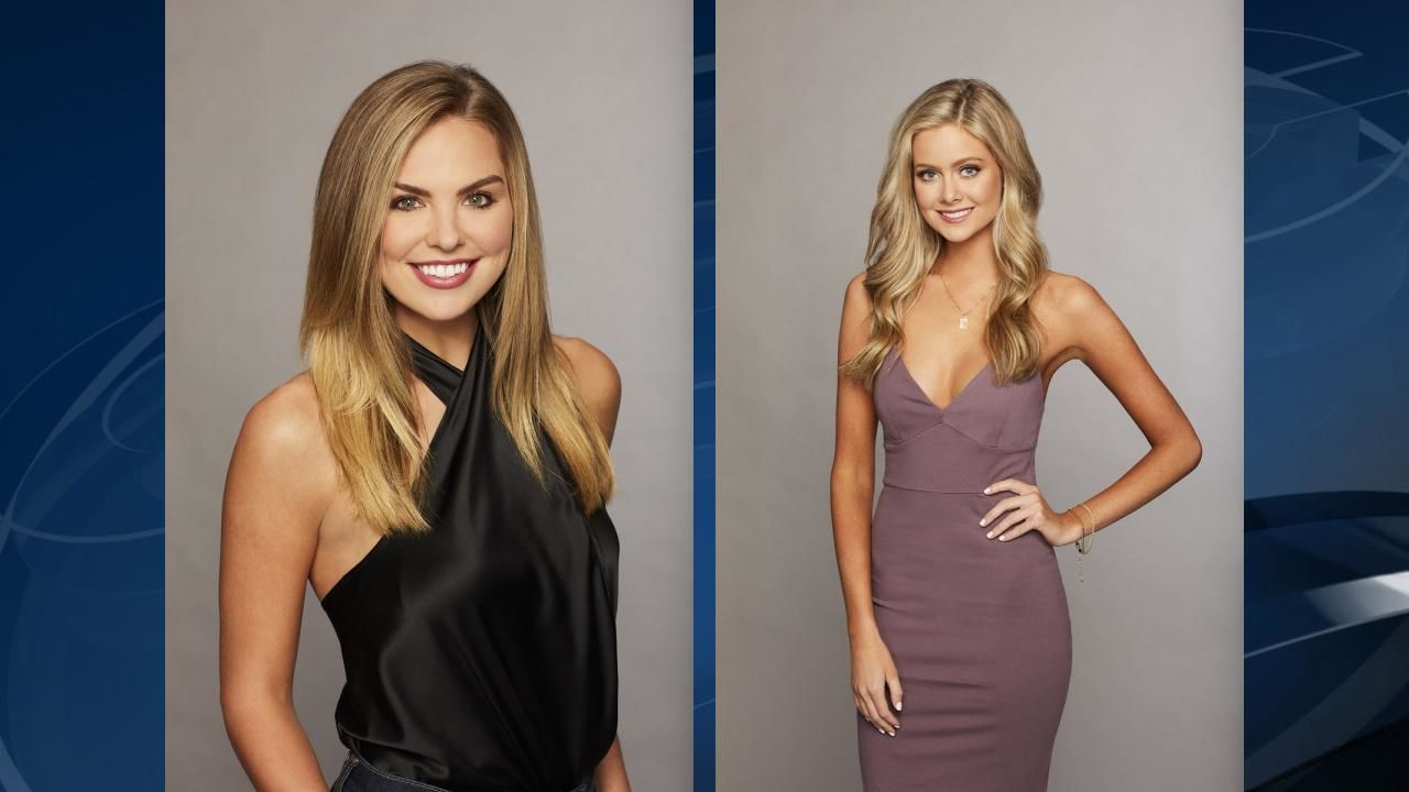 "Alabama natives Hannah Brown, 23 (left), and Hannah Godwin, 23, (right) are vying for Colton Underwood's heart on the 23rd season of ABC's hit romance series ""The Bachelor."" (ABC)<p></p><p></p>"