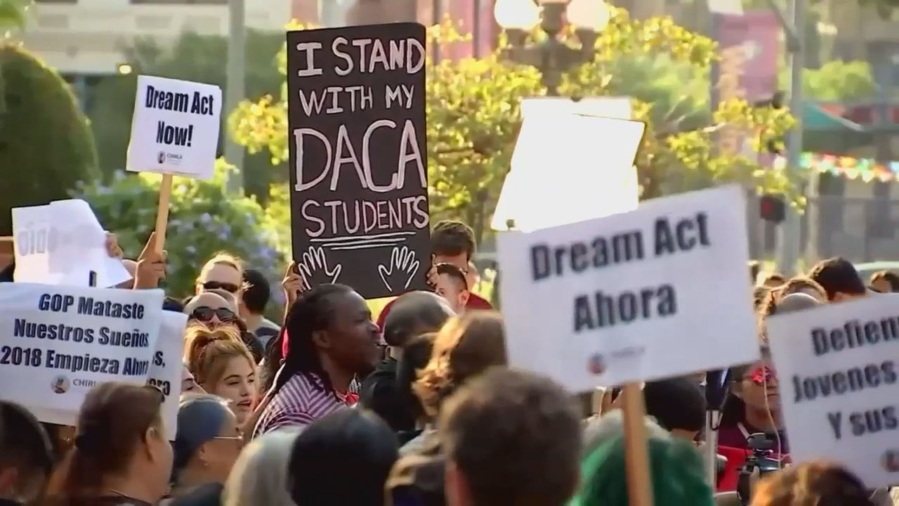 DACA recipient Paul Quinonez says the ruling has given him renewed hope for himself and his brother, who is a high school senior and hopes to attend the University of Washington. (KOMO News){ }