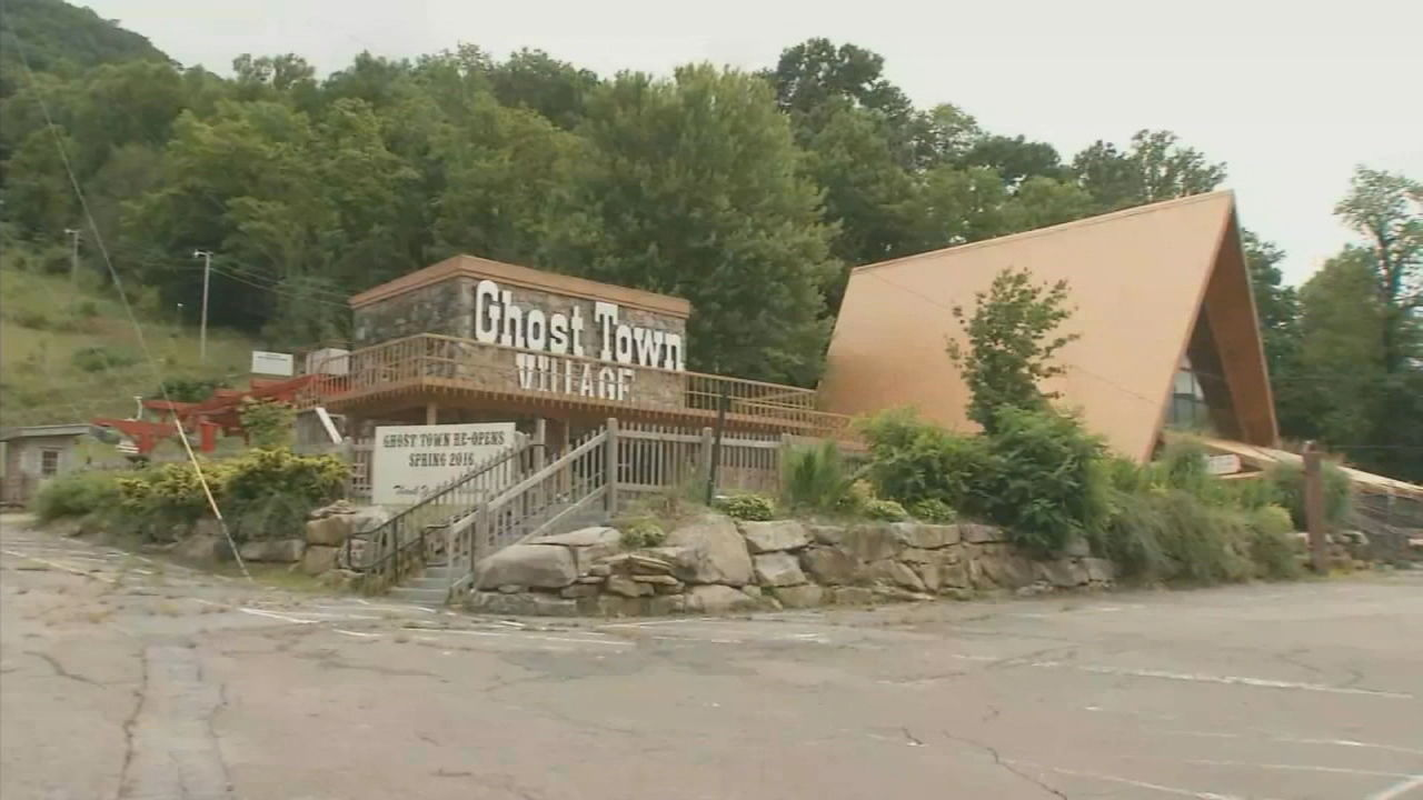 <p>New plans are once again in the works for Haywood County amusement park Ghost Town in the Sky. (Photo credit: WLOS staff)</p>