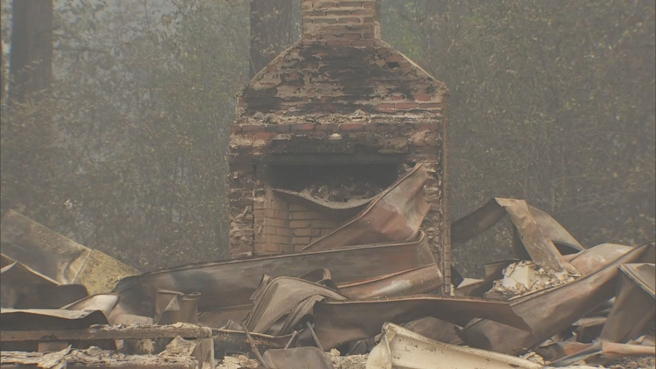 Homes, church near Estacada destroyed by Riverside Fire (KATU)