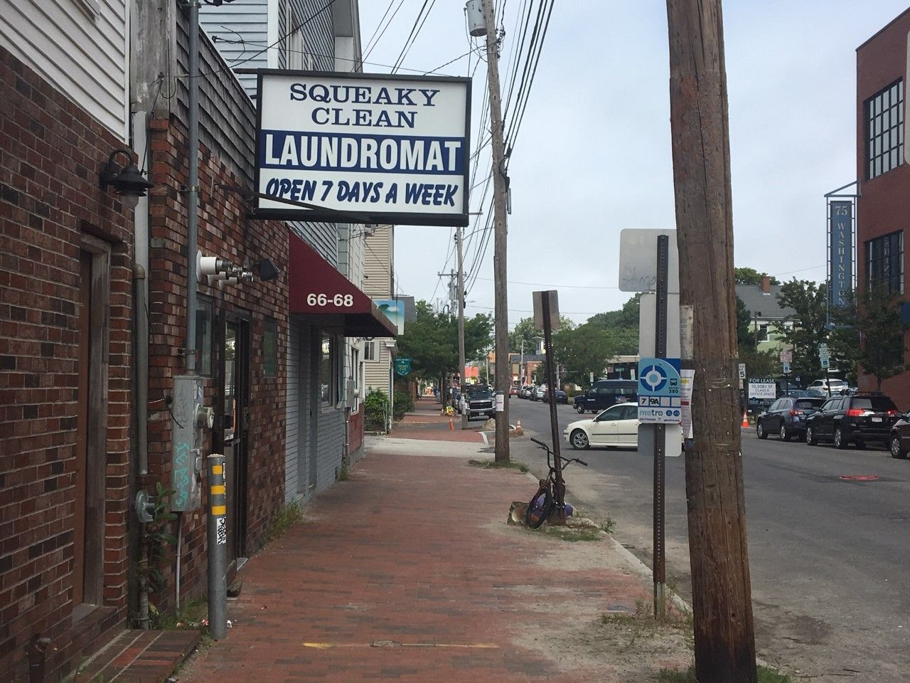 A laundromat on Washington Avenue is the latest victim in a rash of burglaries in Portland