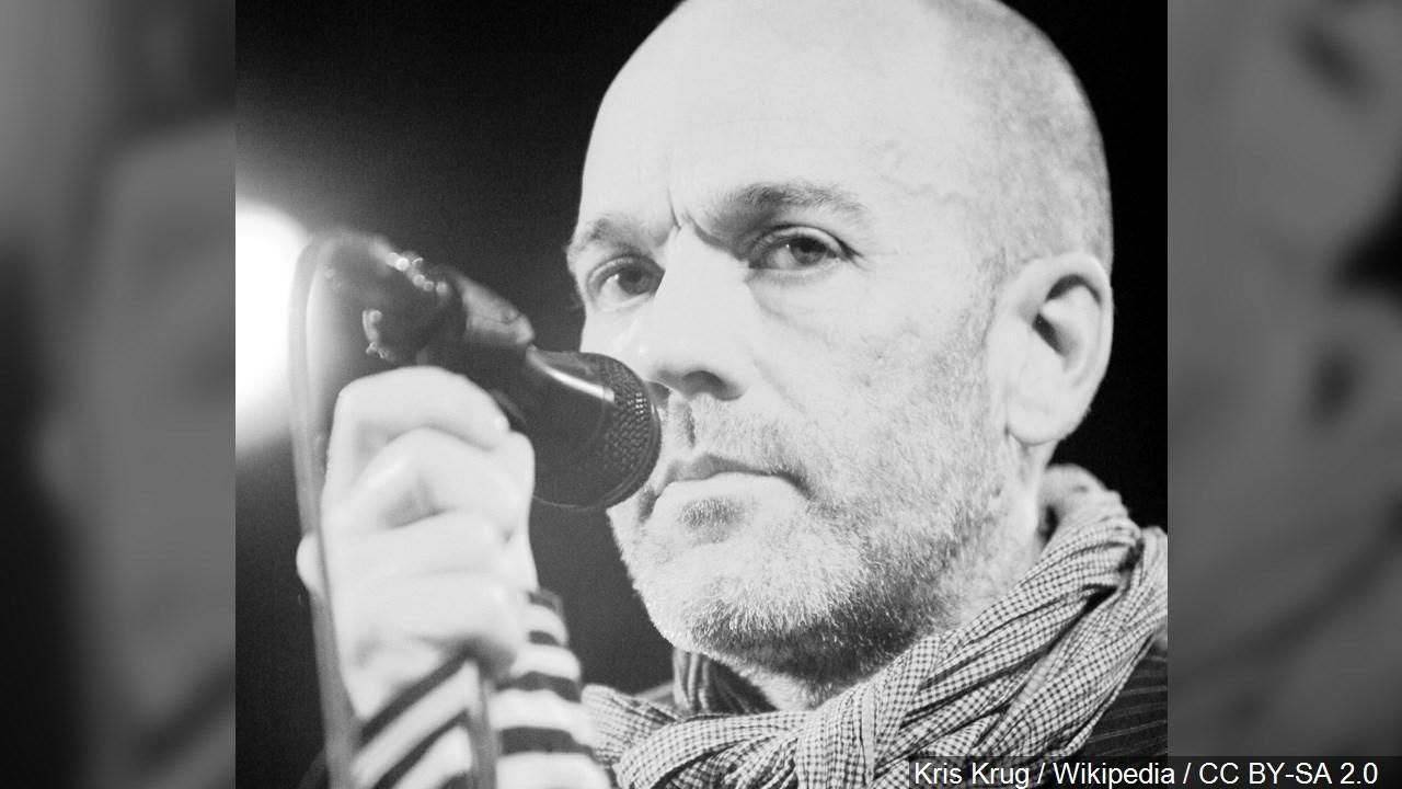 Michael Stipe is an American singer songwriter, musician, film producer, music video director and visual artist. And was the lead singer of the alternative rock band R.E.M. (Cropped Photo: Kris Krug / Wikipedia / CC BY-SA 2.0 via MGN Online)
