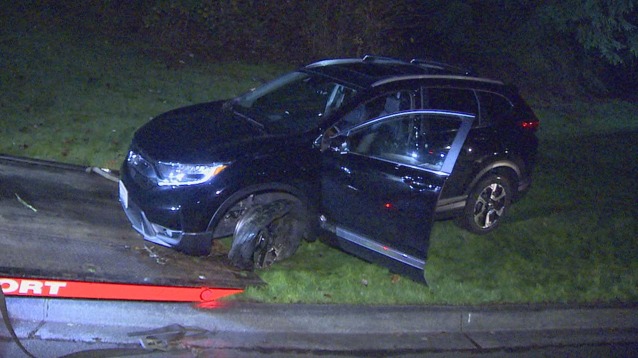 14-year-old girl arrested for DUI after police chase in Puyallup (KOMO Photo)