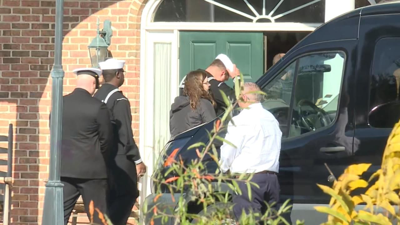 Naval Aircrewman returns home from Dover.  Cameron Walters  was killed at NAS Pensacola Source: WTGS Fox 28