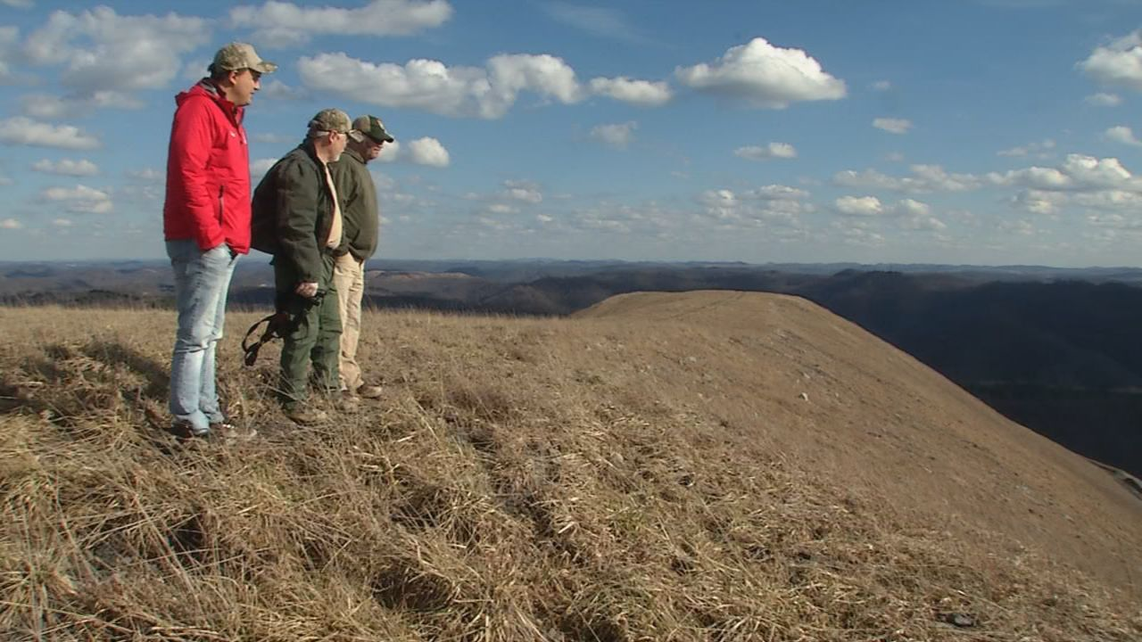 Million dollar views from the peak of this MIngo County reclaimed coal mine site. (WCHS/WVAH)