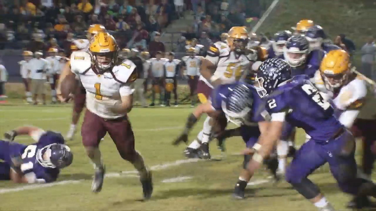 Beyond the Scoreboard: Cherokee community rallies around Braves' football team(Photo credit: WLOS Staff)