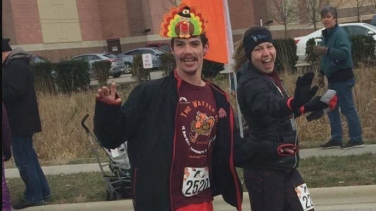Everywhere Colton Showalter goes, hugs, fist bumps, and smiles seem to follow. The Grove City area 24-year-old with Cerebral Palsy has quite a following and a lot of support, as he prepares to take on his next big challenge: a half-marathon. (Courtesy: Family){ }