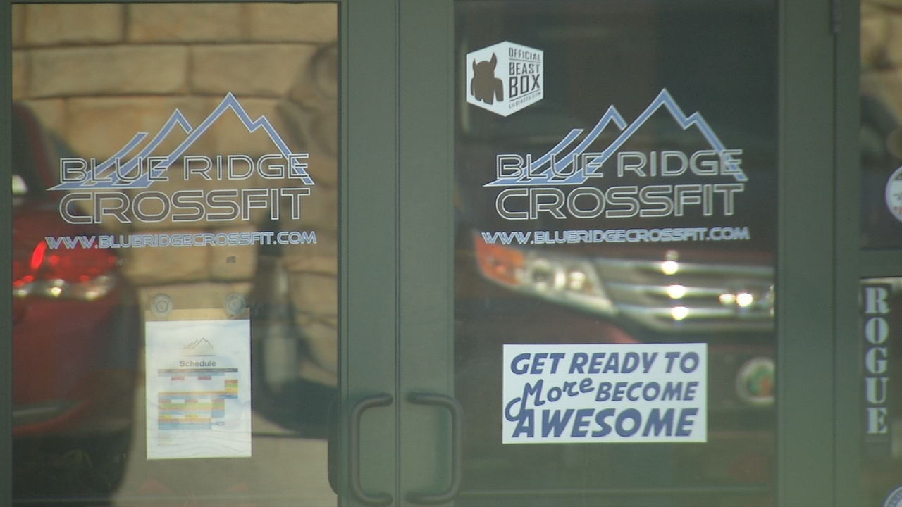 Blue Ridge Crossfit owner Tom Tomlo faces backlash after a controversial social media post. (Photo credit: WLOS staff)