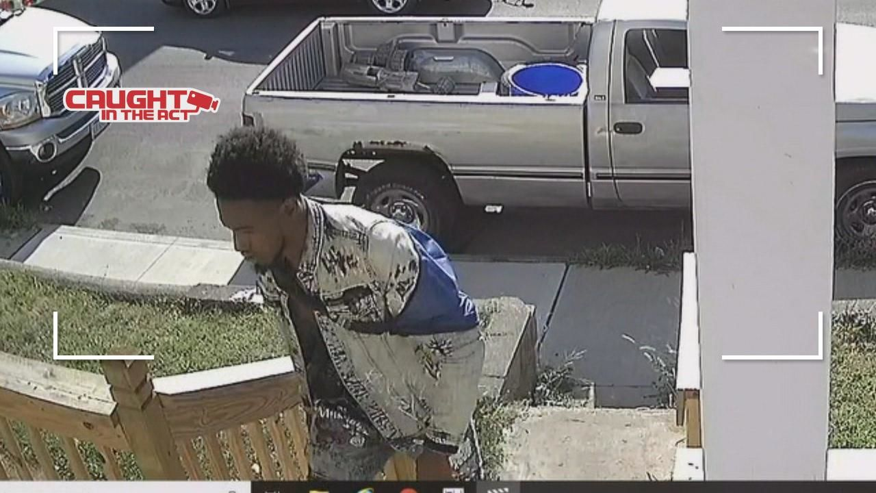 A Columbus fifth-grader is begging an alleged crook to return his stolen bicycle. (Courtesy: Neighbor's surveillance camera){ }{ }