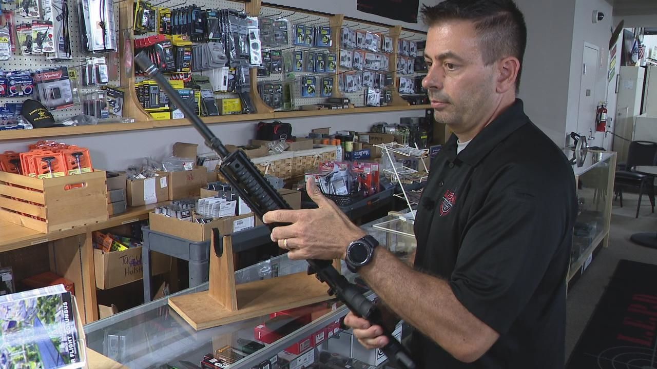 Firearms expert Eric Delbert owns LEPD Firearms and Range. He said as politicians hold discussions on gun control and violence, it's important firearms experts are included in the discussions. (WSYX/WTTE)