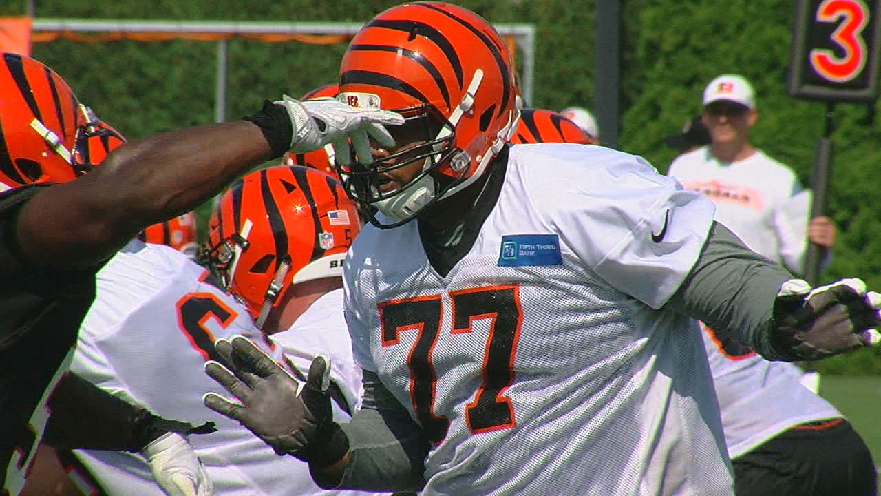 Bengals offensive tackle Cordy Glenn (WKRC)<p></p>