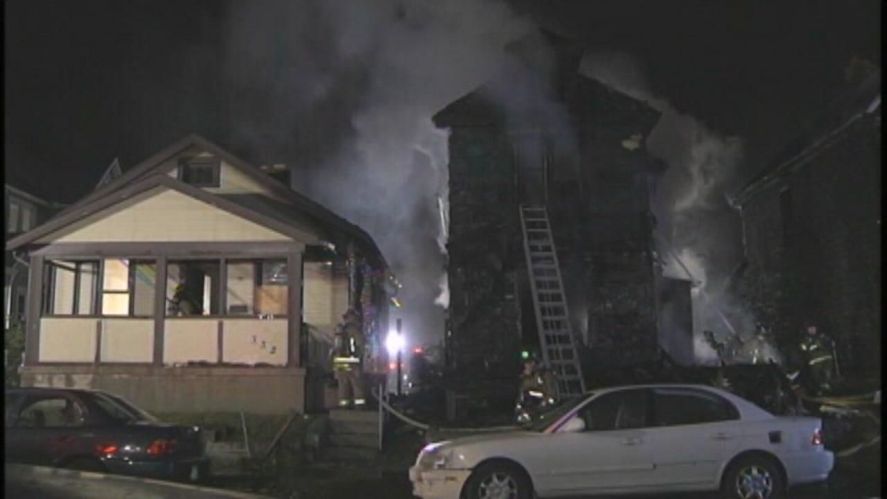"Deanna Perry, 61, Charles ""Little"" Climer, 20, and 7-month-old Brianna Smith were all killed when their home was intentionally set on fire in October 2010 (WSYX/WTTE)"