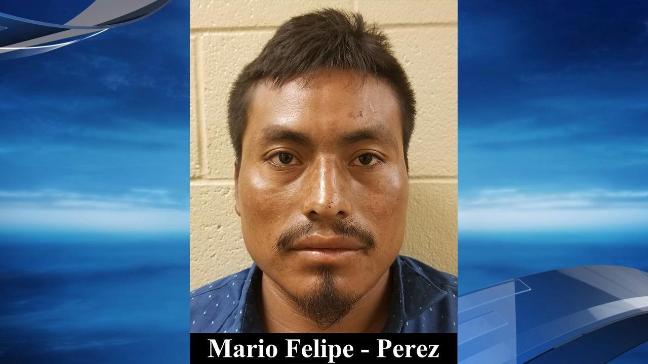 CBP said that a 25-year-old Guatamalan in the group, Mario Felipe-Perez, has an active warrant in Marion County, Oregon, for burglary, domestic violence assault, and contempt of court. (Source: CBP)