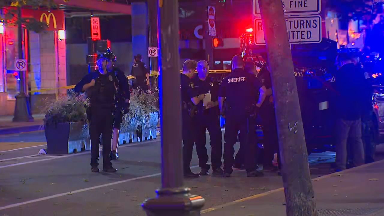 Fatal shooting near Westlake Station (KOMO News){&nbsp;}<p></p>
