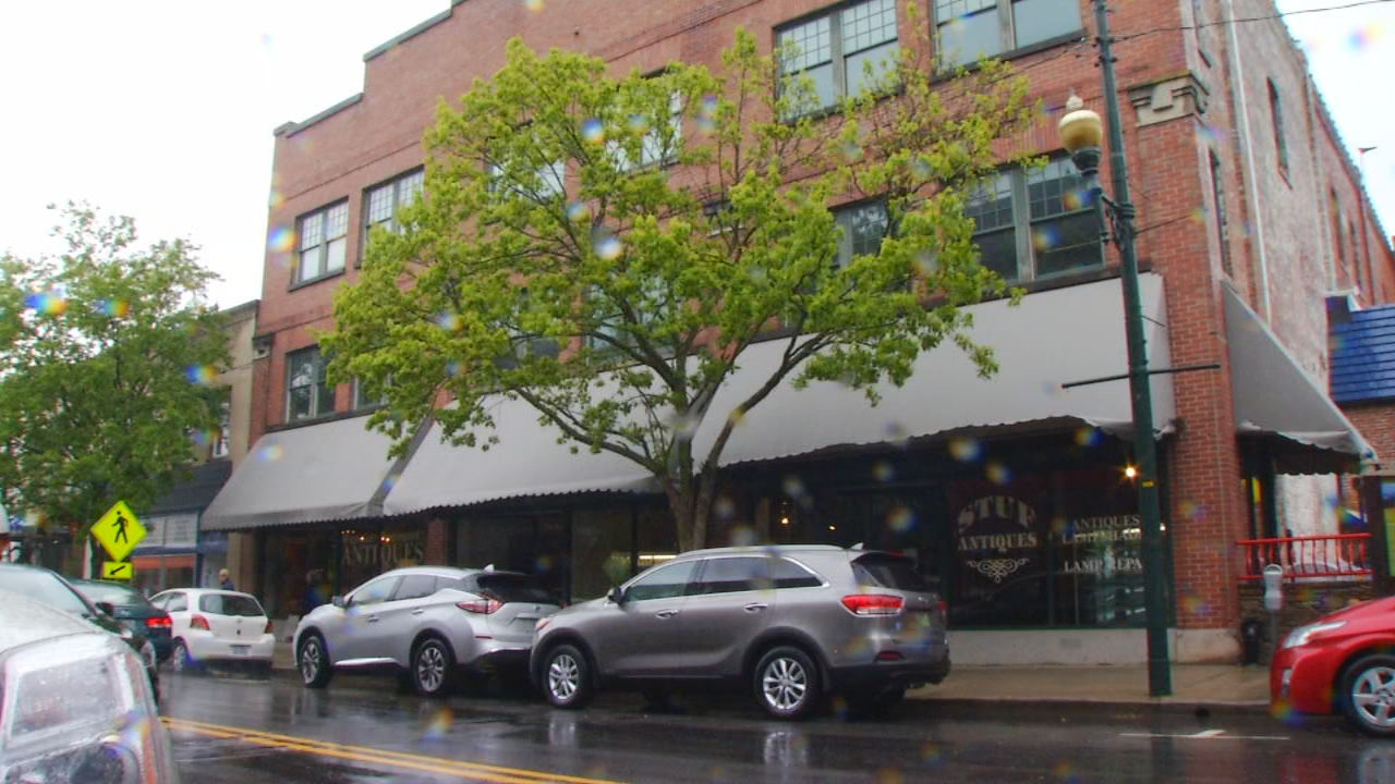 A downtown Asheville building at 52 Broadway has sold to a Raleigh-based company, 52 for Good, LLC, for $4.75 million dollars. Photo credit: WLOS Staff