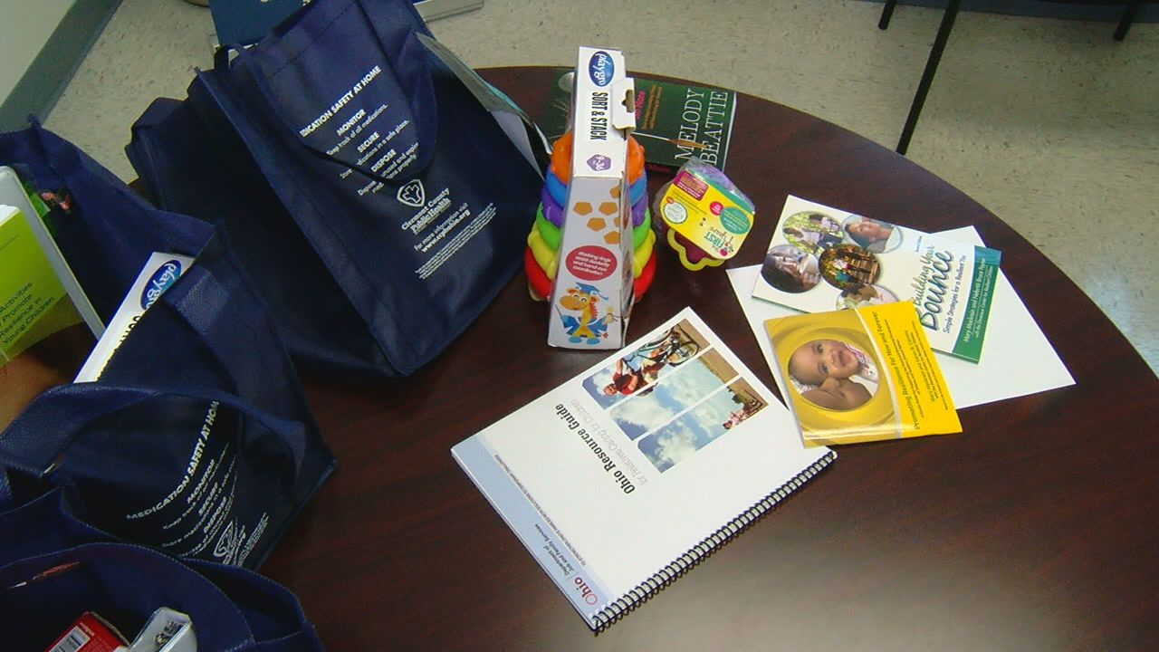 Clermont County gives out resource bags for grandparents raising grandchildren{ } (WKRC)