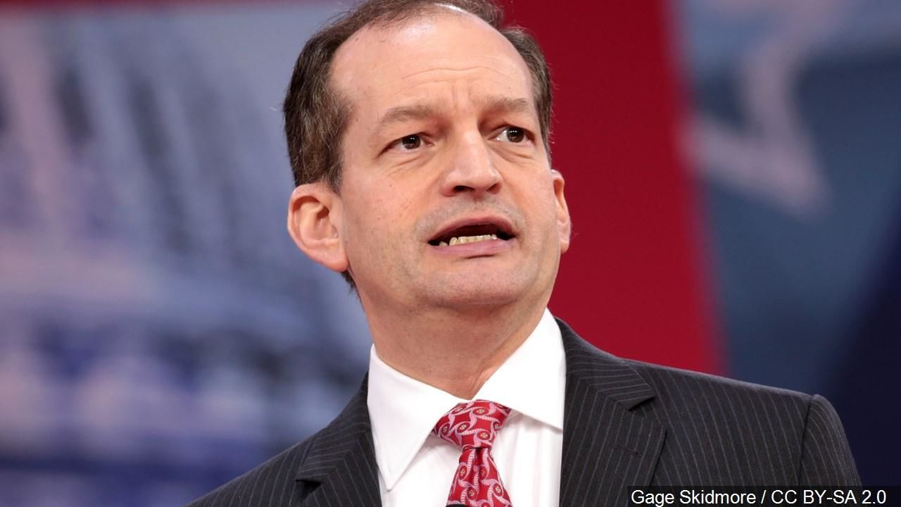 Labor Secretary Alex Acosta submits resignation amid firestorm over Jeffrey Epstein case. (MGN)