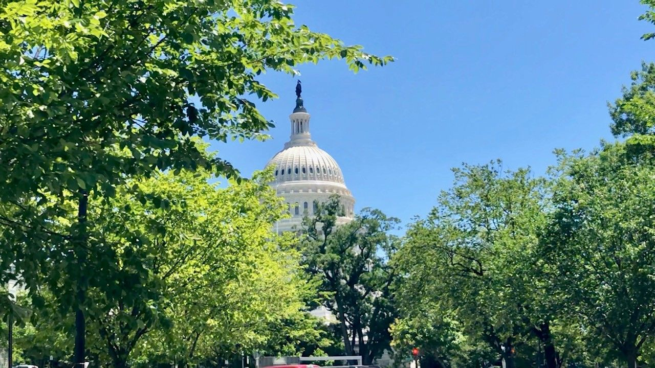 photo of U.S. Capitol dome--by Scott Thuman 6/14/2019