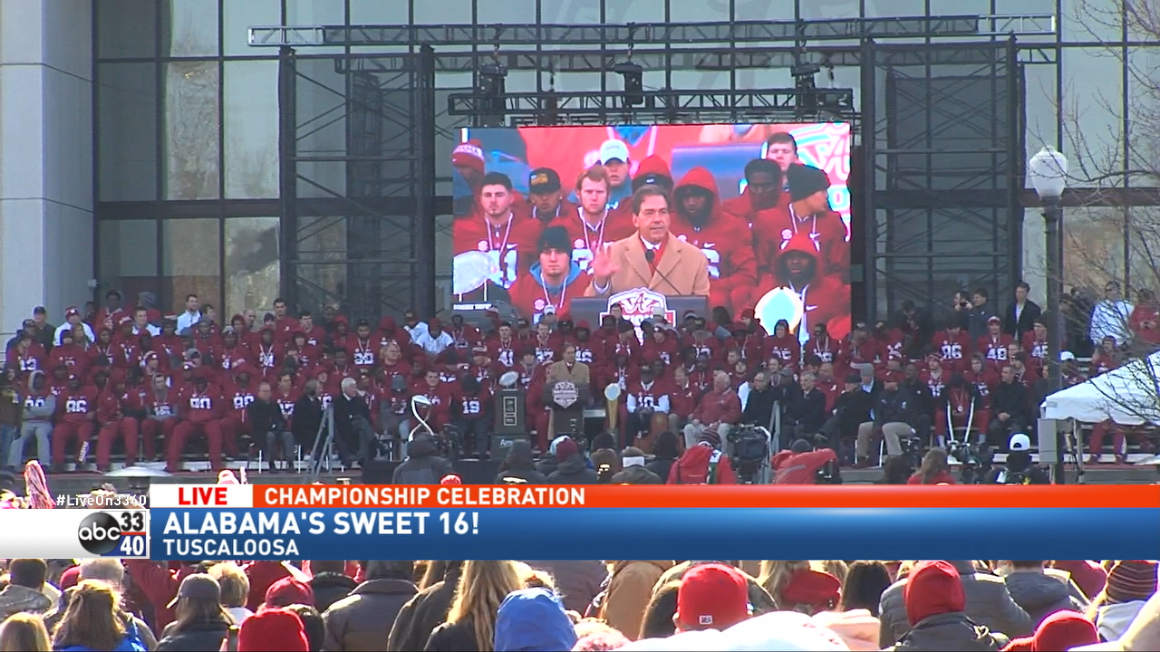 VIDEO: Alabama Fans Party After National Championship Win