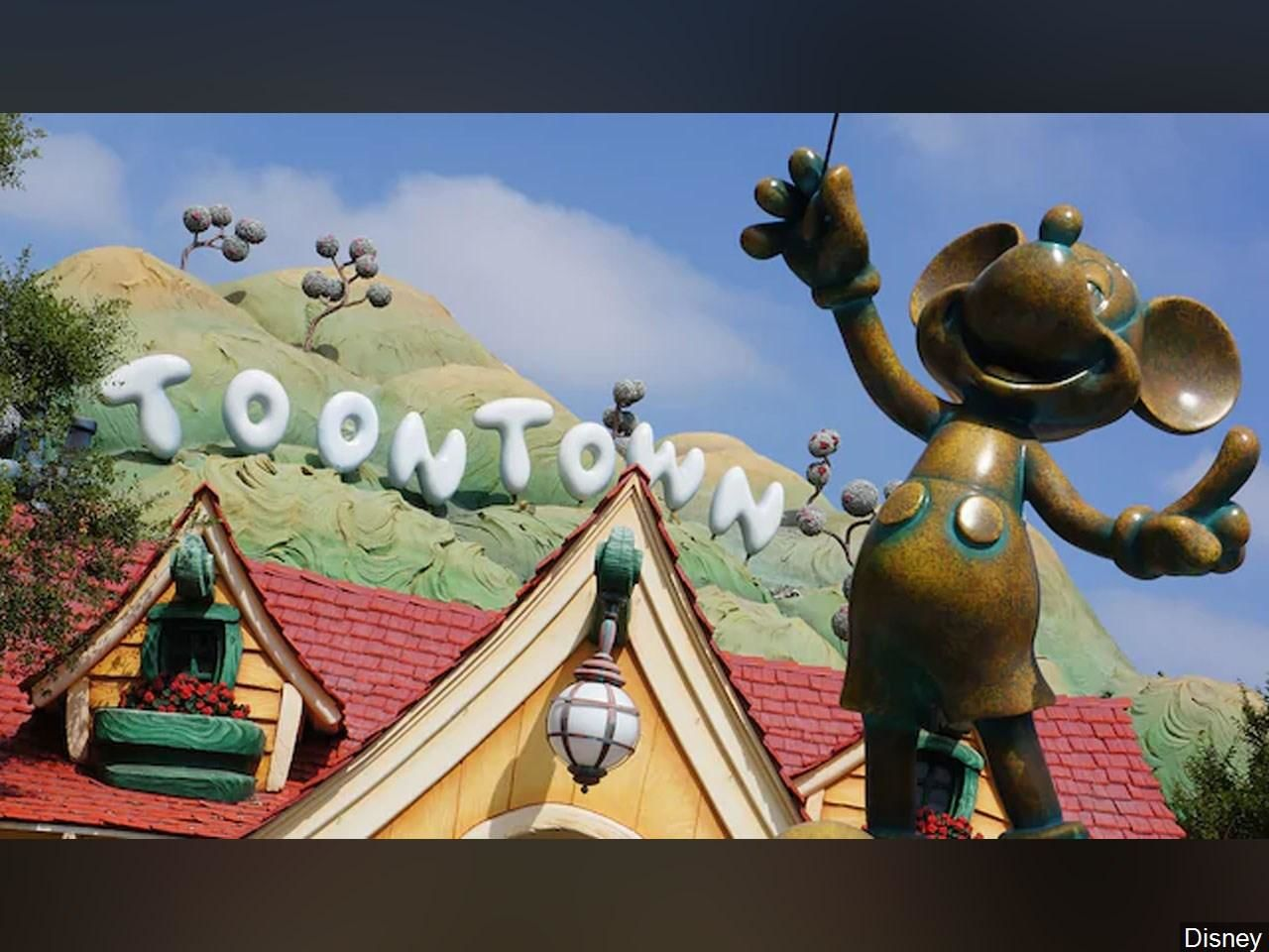 A family brawl broke out at Toontown in Disneyland and it was caught on camera. (Photo: Disney via MGN)