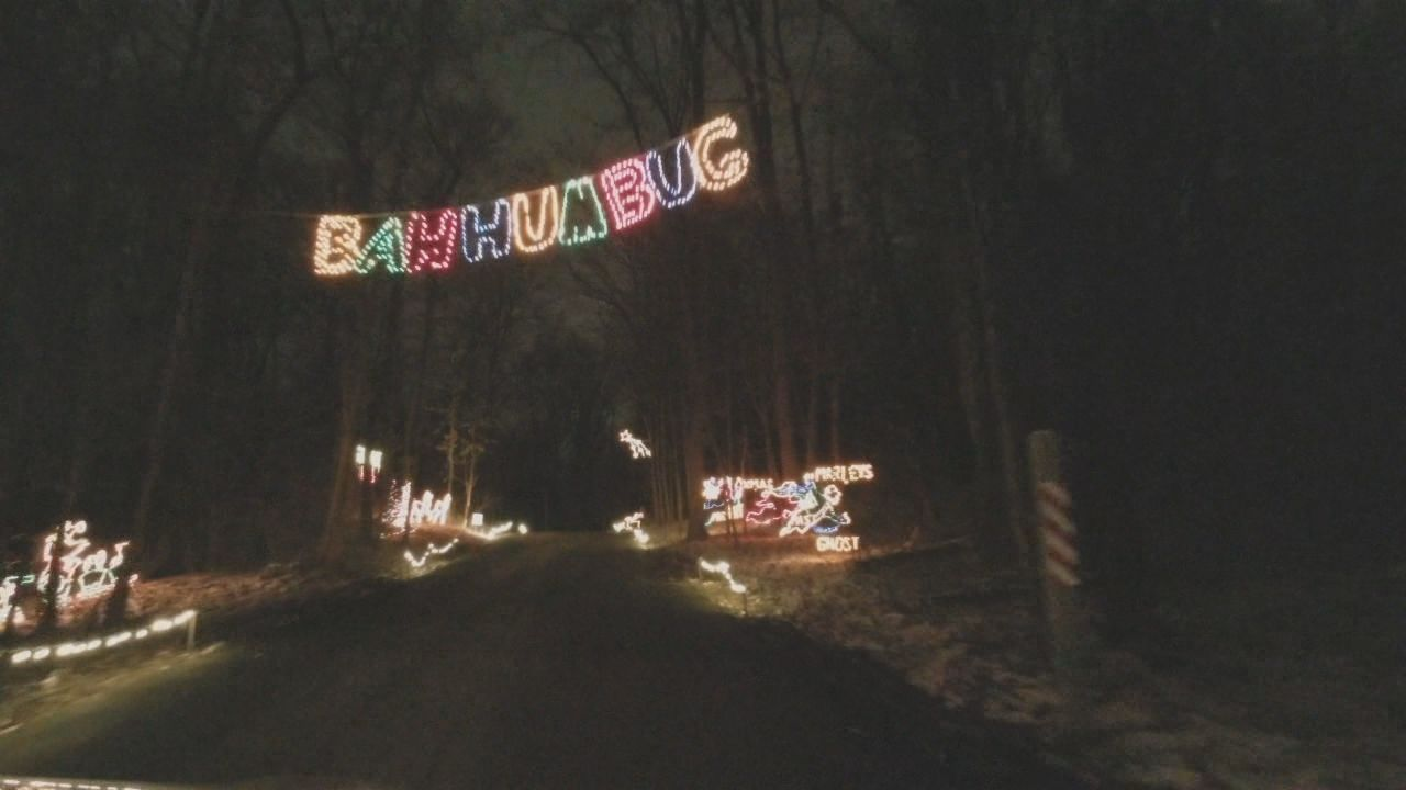 A Christmas light display is attracting crowds to a local park. (WKRC)