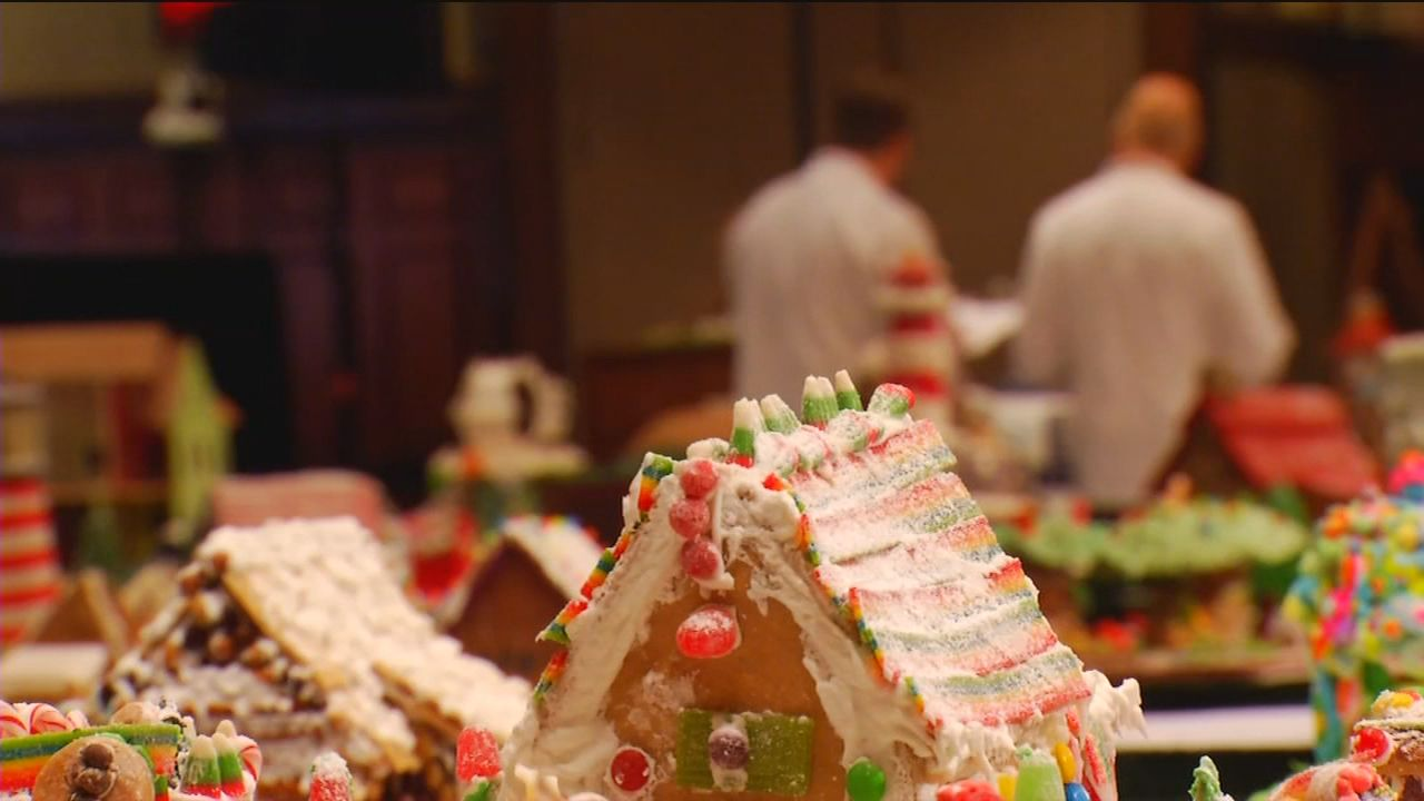 FILE - Photo from the 2018 Annual National Gingerbread House Competition. The 27th annual competition is being held on Monday, Nov. 18, 2019. (Photo credit: WLOS Staff)