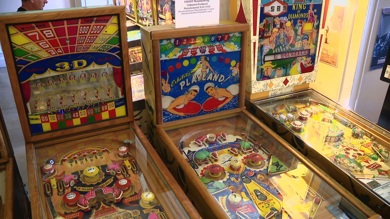 The Appalachian Pinball Museum is an expansion of the Asheville Pinball Museum run by John French and his family. (Photo credit: WLOS staff)