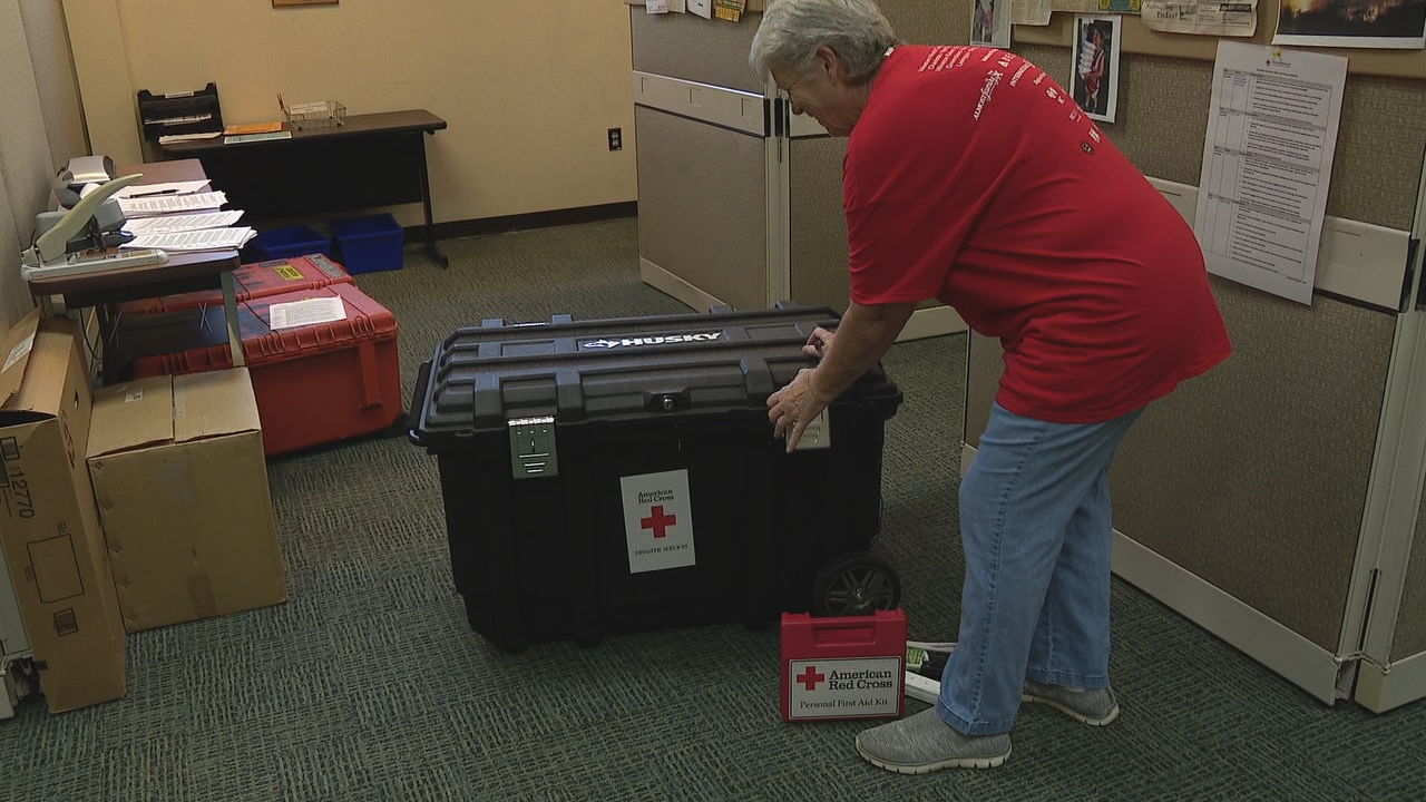 <p>With Hurricane Dorian making its way toward the East Coast, nonprofits in the mountains are getting ready to help. (Photo credit: WLOS staff)</p>