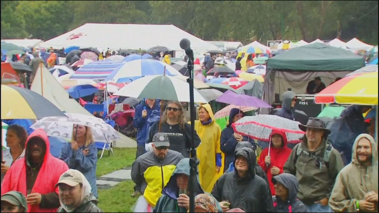 Brewgrass is focusing less on the brew and more on the music, and has a new name: Brewgrass Music Festival. (Photo credit: WLOS staff)