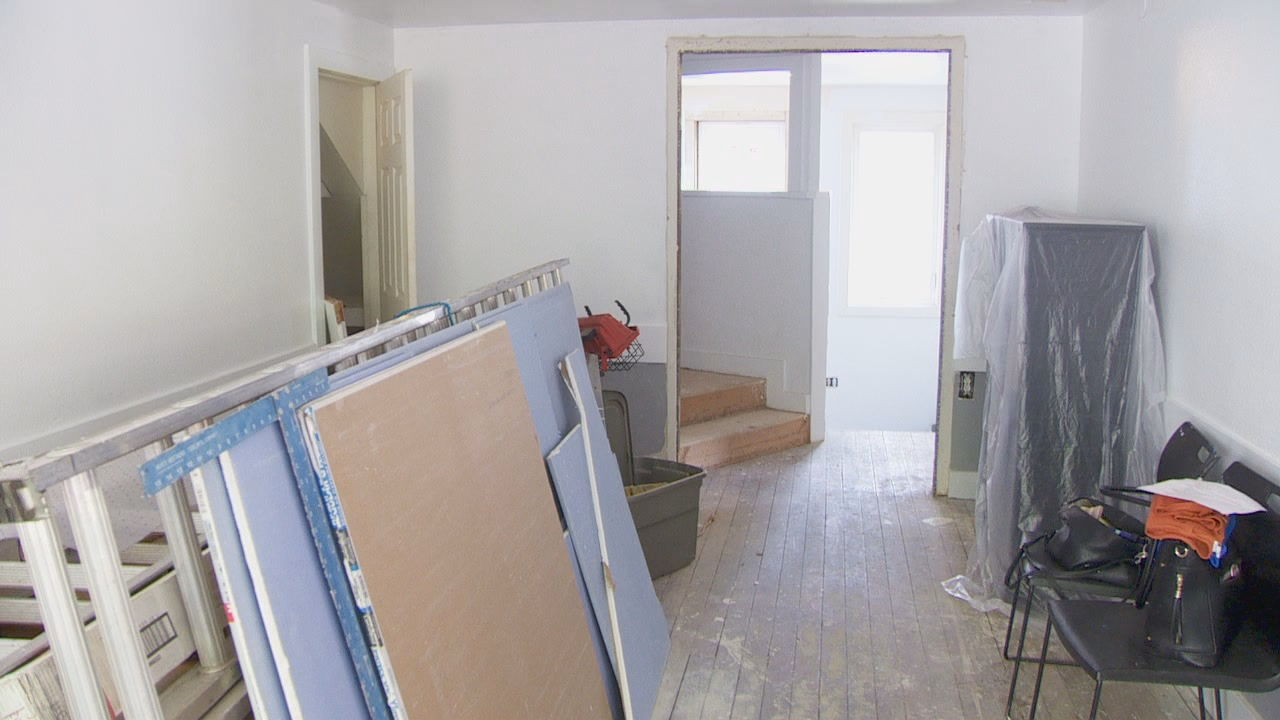 "The house is a work in progress. Very soon it will become ""Taylors House"" a safe haven in Salem for kids and teens that might not have a place to go. (KATU)<p></p>"
