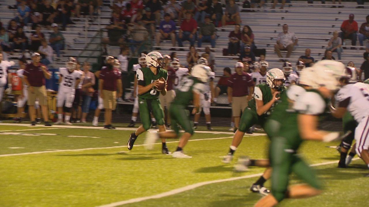 Owen vs East Henderson, 08-23-19{&nbsp;}<br>(Photo credit: WLOS Staff)
