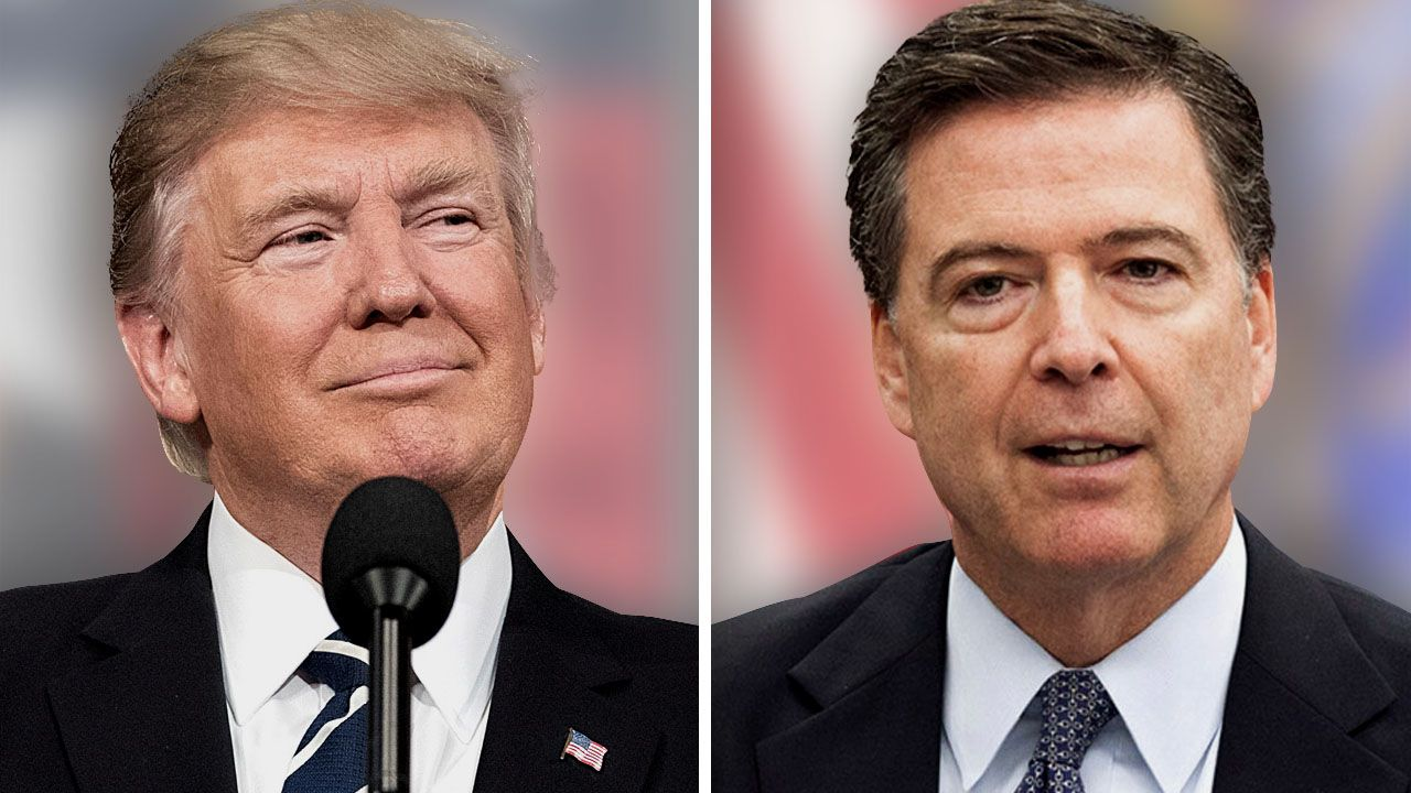 President Trump and former FBI Director James Comey. (MGN)